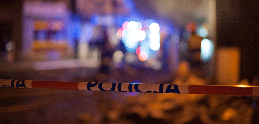 Mężczyzna zginął w pożarze w Jastrzębiu