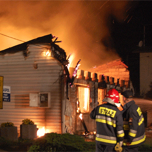 Podpalono dom w Palowicach