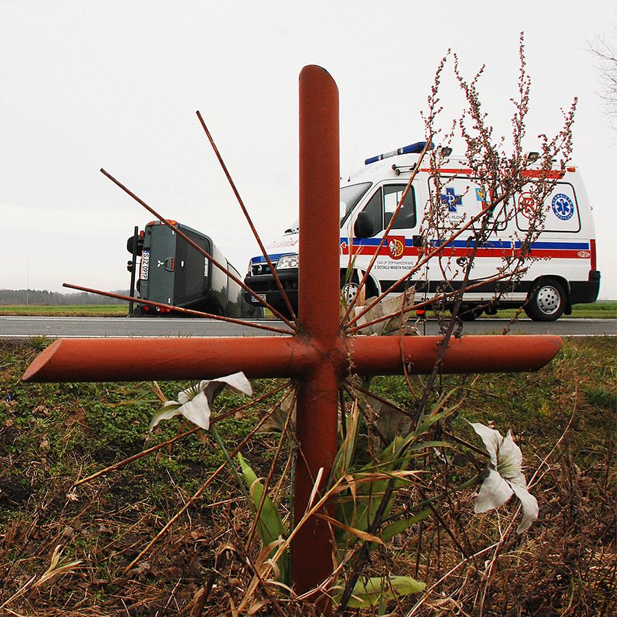 Tragedia na drodze w Gliwicach
