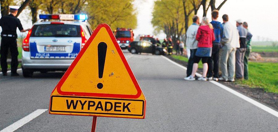 Wypadek w Chwałowicach