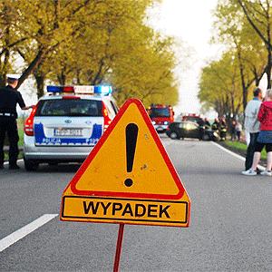 Wypadek w Palowicach. Kobieta straciła przytomność